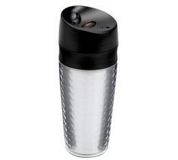 Mug double paroi polycarbonate gris 40cl - Oxo