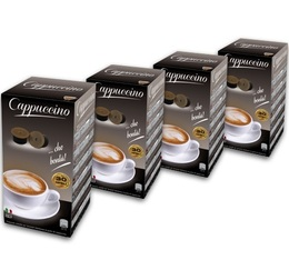 120 x Capsules Cappuccino pour machines Espresso Cap