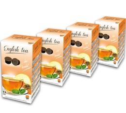 120 x Capsules English Tea pour machines Espresso Cap