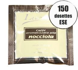 Dosette café Lucaffé aromatisé noisette x 150 dosettes ESE