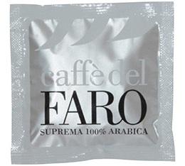 Dosettes ESE - Suprema 100% Arabica - x150 - Caffè del Faro