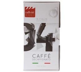 Dosettes ESE - Decaffeinato - x18 - Caffè del Faro