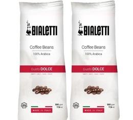 Café en grains 100% Arabica - 2x500g - Bialetti