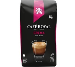 Café en grains Crema 100% Arabica - 1kg - Café Royal