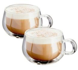 2 Verres double paroi cappuccino 22,5 cl - Judge