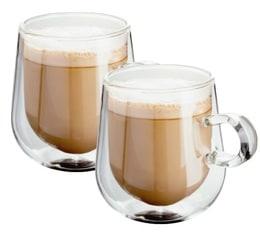 lot de 2 verres double paroi latte 27 5 cl judge. Black Bedroom Furniture Sets. Home Design Ideas