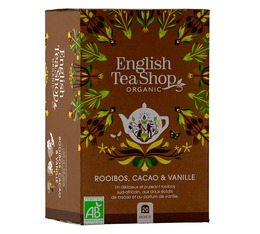 Organic Chocolate Rooibos&Vanilla - 20 tea bags - English Tea Shop