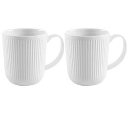 2 Mugs en Porcelaines blanche Douro 35cl - Bodum