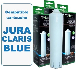 Lot de 3 cartouches filtrantes Filter Logic FL-802 compatible Jura Claris Blue