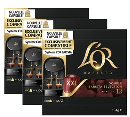 L'Or Barista - Double Barista Selection - 3x 10 capsules