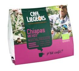 Café dosettes souples bio Chiapas Mexico x16 - Café Liegeois