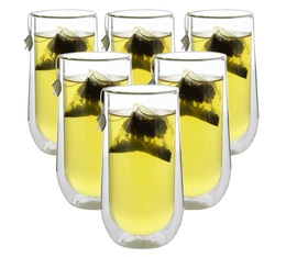 6x33cl double wall glasses - Judge