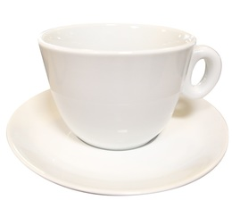 Giant cup and saucer by Ipa Industria Porcellane - Alba model