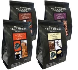 Selection pack - Flavoured coffees - Maison Taillefer - 40 Nespresso® capsules