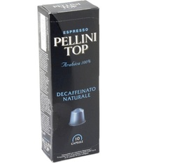 Pack 480 capsules Pellini Top Decaffeinato pour Nespresso