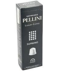 Pack 480 capsules Pellini Supremo pour Nespresso