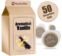 Dosette café aromatisé   vanille x 50 dosettes ESE