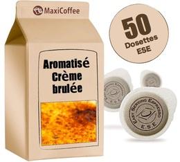 Dosette café aromatisé crème brulée x 50 dosettes ESE