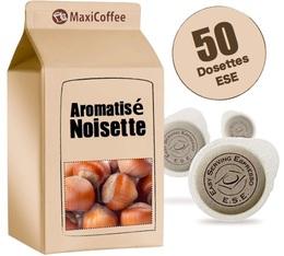 Dosette café aromatisé   noisette x 50 dosettes ESE