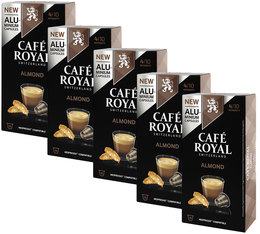 Café Royal 'Almond' aluminium capsules for Nespresso x50