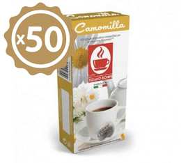 Pack Capsules compatibles Nespresso® aromatisées Camomille x 50