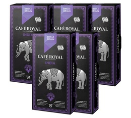 Pack Capsules Café Royal So India 5 x 10 pour Nespresso