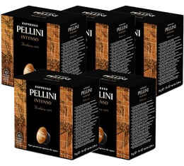 Pack Capsules Pellini Intenso 5x10 pour Nescafe® Dolce Gusto®