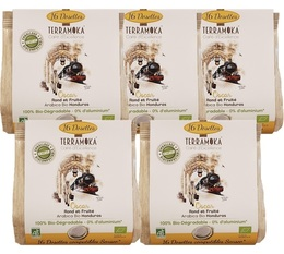 TerraMoka 'Oscar' organic coffee pods for Senseo x 80