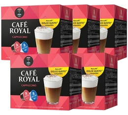 Café Royal Cappuccino pods for Dolce Gusto (to make 40 drinks)