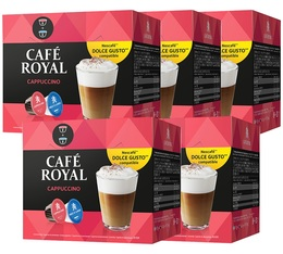 Pack Capsules Nescafe® Dolce Gusto® compatibles Café Royal Cappuccino x 80 (40 boissons)