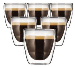 6 verres BODUM PILATUS 8 cl