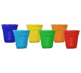 6 Tasses expresso Bicchierini color - Bialetti