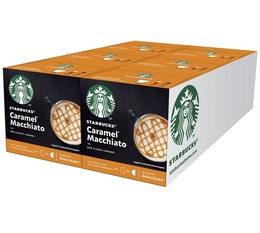 STARBUCKS Caramel Macchiato pods for Dolce Gusto x 36 drinks