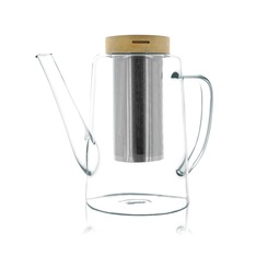 OGO LIVING Gustave Glass Teapot with Infuser