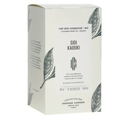 George Cannon Sidi Kaouki organic flavoured green tea x 20 sachets