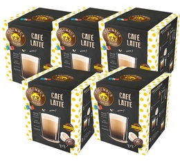Columbus Café & Co Latte coffee capsules for Dolce Gusto - 5 boxes