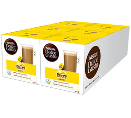 Pack of Nescafe Dolce Gusto Ricoré Latte capsules 5 x 16