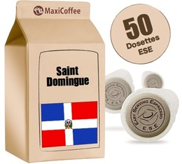 Dosette Café Saint Domingue x 50 dosettes ESE