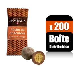 200 Pépites de Spéculoos  (Boîte distributrice) - Monbana