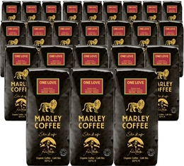 24 x Café en grains Marley Coffee - 227 g - One Love