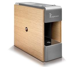 Machine à capsules Espresso bois - Caffé Vergnano