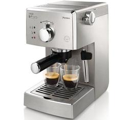 Machine expresso Saeco Poemia HD8427/11 tout Inox + offre cadeau