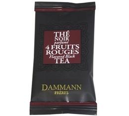 Thé 4 fruits rouges Dammann Frères - boîte de 24 sachets Cristal