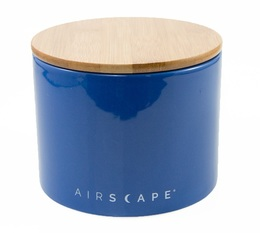 Airscape blue ceramic Food storage container with vacuum seal - 250g