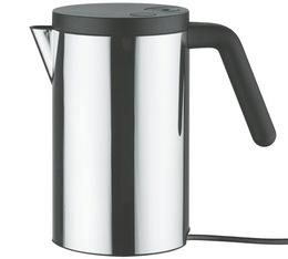 Bouilloire électrique Alessi Hot it Inox/Noire designée par Wiel Arets 80cl