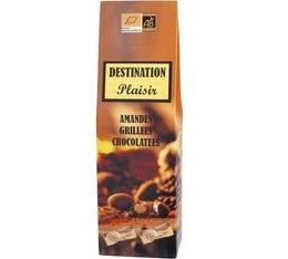 Amandes chocolatées Bio (enveloppées individuellement) Destination - 100 gr