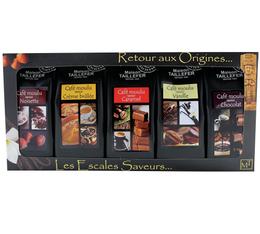 Etui Découverte - Cafés moulus aromatisés - Maison Taillefer - 5x50g