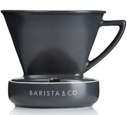 Dripper Barista & Co classique en porcelaine - 2 tasses