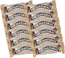 12 Barres gourmandes Café & Chocolat - Eat Natural