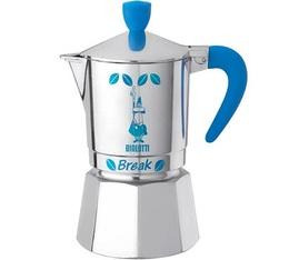 Cafetière italienne Bialetti Break bleue 3 tasses
